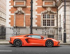 LP700 (Alexbabington) Tags: orange cars car italian lamborghini supercar supercars v12 aventador lp700