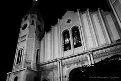 La Fachada (Lex Arias / LeoAr Photography) Tags: blackandwhite bw blancoynegro church monochrome lines architecture night lights monocromo luces noche arquitectura nikon artistic venezuela iglesia monochromatic bn nocturna barquisimeto lineas 2016 nikond3100 leoarphotography lexarias iglexariasphotos