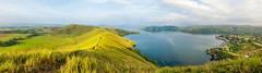Doyo Lama Sentani (Panorama) (Jokoleo) Tags: panorama lake nature indonesia outdoor hill fujifilm papua danau sentani jayapura terfujilah