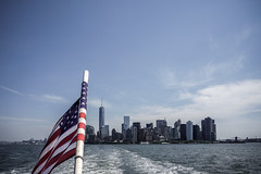 untitled-7.jpg (MEL2YYZ) Tags: nyc vacation urban newyork tower tourism freedom bay boat flag sony patriotic views silohette hudsons a6000