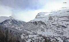 Zermatt in the Swiss Alps (A. Wee) Tags: mountain alps switzerland village skiresort zermatt