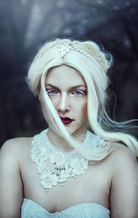 the coldness lives in your heart now, forever (Liancary) Tags: travel flowers summer portrait woman inspiration selfportrait art love beauty fashion fairytale composition canon photography amazing model woods flickr photographer fineart fine creative style queen muse fantasy bloom concept gown emotional conceptual ornate epic mystic wander headdress darkbeauty liancary