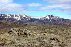 Mskarshnjkar and Sklafell (Freyja H.) Tags: sky cloud mountain snow nature rock landscape iceland outdoor mskarshnjkar sklafell mosfellsbr