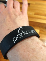 Parkrun wristband (the_amanda) Tags: wristband parkrun