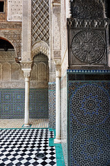 Fes El Bali Morocco-Medersa el Attarine.7-2016 (Julia Kostecka) Tags: morocco fes madrasa medersa feselbali medersaelattarine