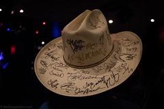 Carlene Carter-40 (redrospective) Tags: music london hat concert live gig bands cowboyhat memorabilia signed 2016 carlenecarter o2islington 20160611