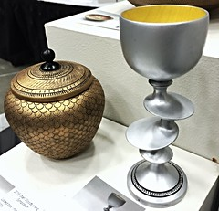 A Fancy Goblet (Rinny1959) Tags: wood urn utah goblet lathe uvu