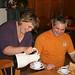 Gasthaus Kaffee trinken
