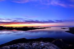 Mysterious (Northern Straits Photo) Tags: morning blue canada reflection sunrise twilight bc purple britishcolumbia victoria vancouverisland secretbeaches nikond700 northernstraitsphotography