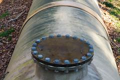 Penstock Cap (oliva732000) Tags: autumn green fall electric woods village power pipe newhampshire nh hydro lower fiberglass hillsborough penstock