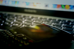 (im-Jou) Tags: black apple dark book mac berry blackberry pro bb rim bold macbook macbookpro bold9700 bold9780