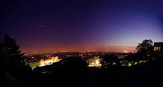 Crpuscule  Montmartre / Twilight (a view from Montmartre, Paris) (marcribis) Tags: sunset paris nikon naturallight montmartre tokina 11mm coucherdesoleil d7000 tokina1116mm