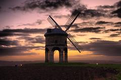 IMG_9242HDR (chrisgandy2001) Tags: sunset day cloudy colorphotoaward chestertonwindmillchestertonwindmillwarwickshire windmillstonesailsailswoodwooden