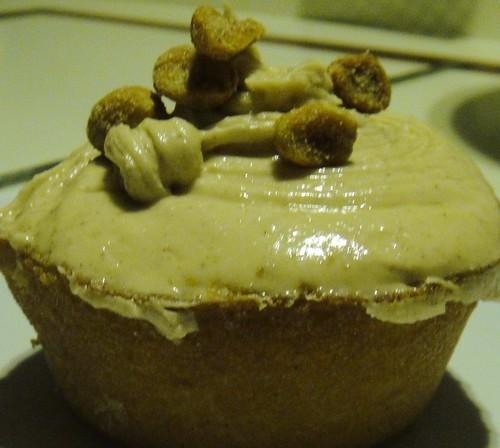 Almond Butter Cupcake