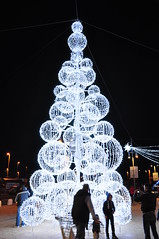 Unconvetional Christmas  three (gerri23) Tags: light decoration christmasthree unconvetional