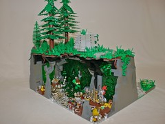 Treasury (Geode Caverns) (Siercon and Coral) Tags: castle treasure lego crystal fantasy cave ccc geode cavern moc forestmen