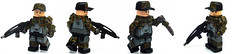 Field Commander ([N]atsty) Tags: field grass cat real soldier army war lego bionic awesome 360 camo mc ba minifig trade epic commander minifigure brickarms minifigcat