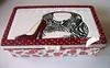 Patchwork Embutido - Bolsa e Sapato (Line Artesanatos) Tags: caixamaquiagem patchworkembutido