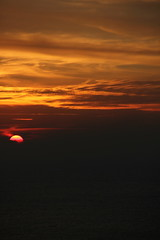 Good bye sun (Fares Al-876ANI) Tags: sky sun clouds sunrays lightrays غروب سماء الشمس سحاب أشعة سحب شعاعالشمس