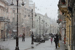 The first snow! (kataaca) Tags: winter snow hungary first snowfall els h tl kaposvr hess