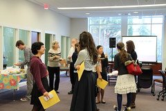 """""""Constructing The News"""" Class Presentation and Exhibit Open House (W&M Swem Library) Tags: library lips scrc exhibits collegeofwilliamandmary pillory swem classpresentations hercampus sharonzuber constructingthenews alernatevoices"""