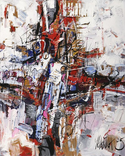Abstract Composition 80cm x 100cm