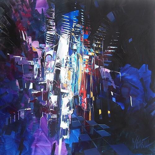 Midnight - Painting - Original
