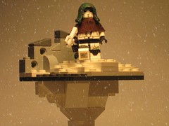 Winter Apocalypse (Submag) Tags: winter white trooper soldier lego smg apoc pdw brickarms