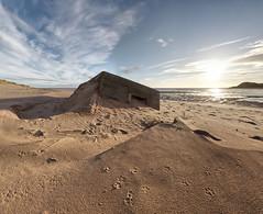 Beach invasion defence (PC225208) (Mel Stephens) Tags: uk abandoned geotagged coast scotland sand war december aberdeenshire wwii structure coastal ww2 gps stitched hdr newburgh ptgui 2011 cixpix aberdonia forvie