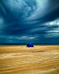 Moana Beach Before Storm (James Yu Photography) Tags: longexposure sky landscape photography james coast waves seascapes south australia adelaide sa moana australiabeach seacsape