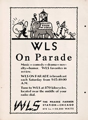 WLS On Parade (Namey McNamerson) Tags: chicago by magazine stand 11 september standby 1937 wls