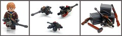 Fallout New Vegas :Grenade Machine Gun ([N]atsty) Tags: new vegas mod rust gun lego awesome machine minifig custom modification grenade epic fallout brickarms miifigure