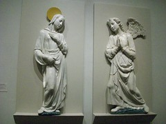Andrea della Robbia: The Virgin of the Annunciation and The Archangel Gabriel (c 1465)