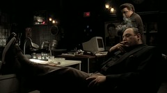 James Gandolfini - feet up on the table 2 (TBTAOTW2011) Tags: boss black feet up leather table shoe james dress desk sole mafia sopranos mafioso dominant gandolfini