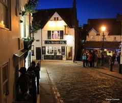 Festive Street's (livelifetakeapic) Tags: sea fish abbey harbour whitby cobbles