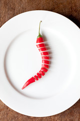 Spicy Peppers nr 13 (Masha Bakker Matijevic | www.by.mashabakker.com) Tags: wood light red two stilllife white hot cooking kitchen pepper mood natural spice cook plate ingredients peppers spicy oriental herb dubbel ingredient koken