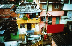 from above (chipi-chipi) Tags: city latinamerica colors metro fromabove medellin slums metrocable comunas
