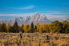 Autumn Teton Morning (txcraig75) Tags: wyoming grandtetonnationalpark gtnp tetoncounty cathedralgroup canon24105mm mooseheadranch canon5dmarkii