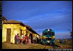 Estación Toconey (cespedesenelmaule) Tags: chile tren trenes fuji fujinon 5700 efe s700 constitución talca maule ramal terrasur buscarril toconey pencahue
