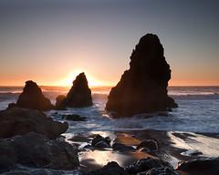 Rodeo Stacks (Randall Beetle Photography) Tags: rodeo beach stacks sunset pacific ocean rock sausalito marin headlands california usa