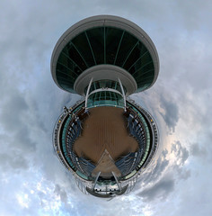 Pool Deck (Bruce Torrence) Tags: royalcaribbean stereographic enchantmentoftheseas