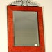 202. Unusual Wood and Glass Venetian Mirror