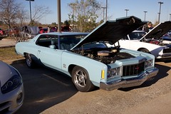 75 Impala (Bill Jacomet) Tags: auto show blue chevrolet car texas katy ss chevy 1975 after hours impala 75 past blast