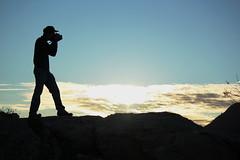 The Photographer (Ana Encinas.) Tags: sunset sky field sonora mxico canon atardecer eos photographer cielo campo mexique shooting hermosillo ocaso duk fotografo messico 550d skycape t2i anaencinas