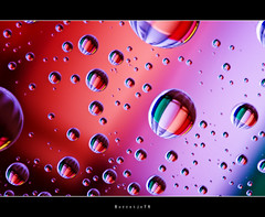 Copic Marker Drops   [explored] (Borretje76) Tags: light abstract macro reflection water netherlands glass dutch reflections iso100 droplets drops neon sony sigma plate led explore software refraction marker nik enschede markers pse bold copic druppel weerspiegeling druppels f20 180mm verlichting stiften reflecties refletie spatten explored glasplaat vertekening spatjes ledverlichting a580 plantensp