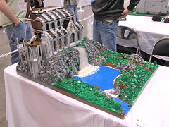 Castle Displays at Brickfair Alabama 2012 (vdubguy67') Tags: city brick castle army layout town birmingham village lego display fort space south contest alabama battle fair southern viking diorama siege 2012 moc afol brickfair