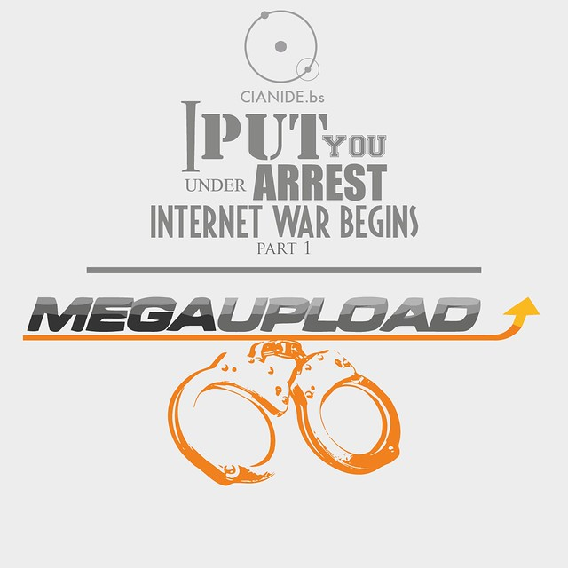 Internet War against Megaupload