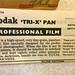 Tri-X Pan 120 film leaflet - 1