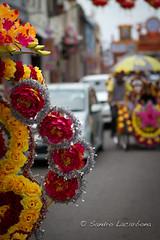 Tuk-tuk flowers (Sandro_Lacarbona) Tags: voyage trip travel flower taxi plastic malaysia tuktuk flour backpacker melaka sandro plastique malaisie routard tourdumonde tetedechatcom lacarbona