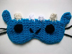100_2535 (Mooy) Tags: blue cute dragon handmade crochet adorable chinesenewyear kawaii etsy sleepmask sleepingmask yearofthedragon mooeyandfriends